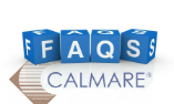 FAQs with logo