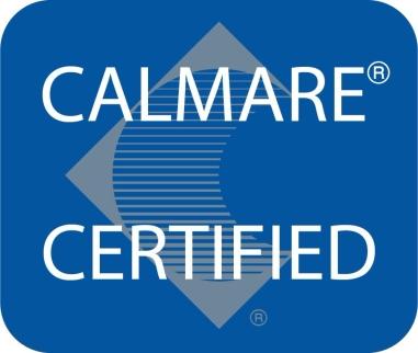Calmare Certified Location Logo