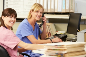 nurses-on-phone