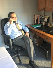 Dr. Cooney at Calmare personally consults with every potential scrambler therapy patient.