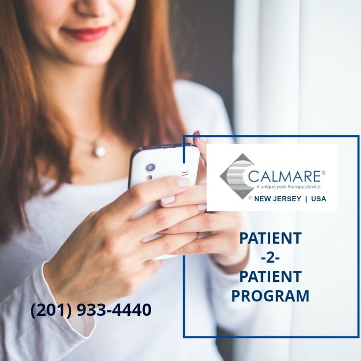 calmare, pain management, chronic pain, scrambler therapy