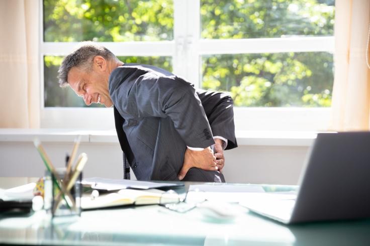 Calmare therapy treats chronic back pain and sciatica