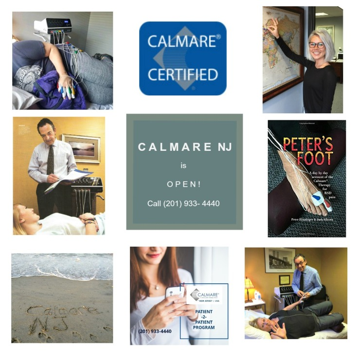 Calmare pain therapy is now open after COVID-19