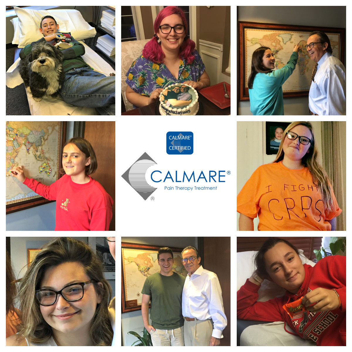 calmare therapy is a alternative pain management therapy for children
